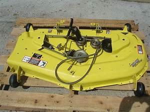 John Deere The Edge Cutting System 48c Convertible Mower