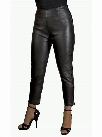 Trousers Leather Crop Tight Womens Colours Ladies