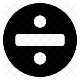 division glyph icon   svg png eps ai