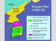 Korean War Timeline 1950 1953 9