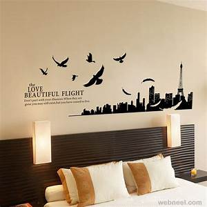 3d room design free wall stickers for bedrooms bedroom for Best brand of paint for kitchen cabinets with picture wall art stickers