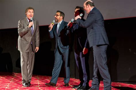 VIDEO Will Ferrell And The Anchorman Cast Burst Into
