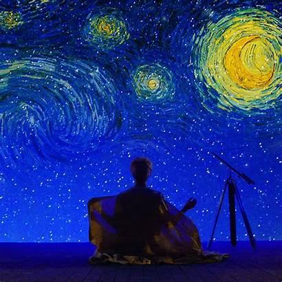 Jimin Night Starry Moonscape Dancing Across Lost