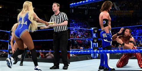 wwe smackdown  results  april  latest