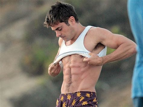 bad bunny swimsuit zac efron has difficulty swimming for baywatch