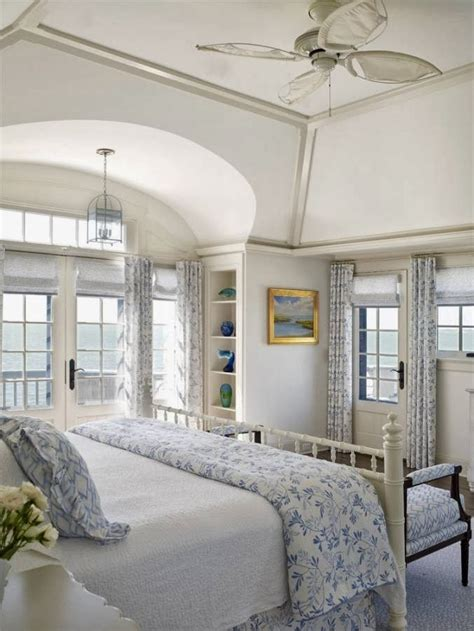 House With Hints Of Deco Detailing And A Smooth Neutral Palette by Hints Of Blue With White High Ceilings Home Decor Ideas