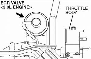 What Are The Locations Of The Egr And Pcv Valves On A 2005