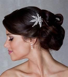 Peigne Cheveux Mariage : peigne mariage cirse en strass ~ Preciouscoupons.com Idées de Décoration