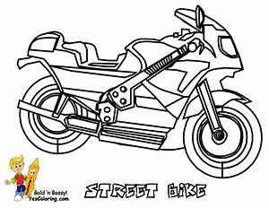 transport colouring pages 10 fun ideas with With honda bikes street