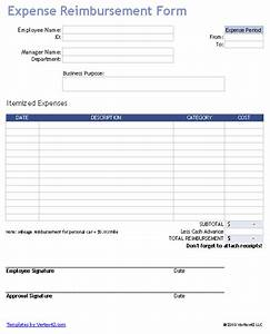 free expense reimbursement form for excel With simple expenses claim form template
