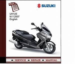 Suzuki Uh125 M Y 2007 Service Manual