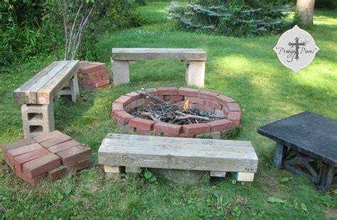gas fireplace river rocks budget pit from reclaimed brick prodigal pieces