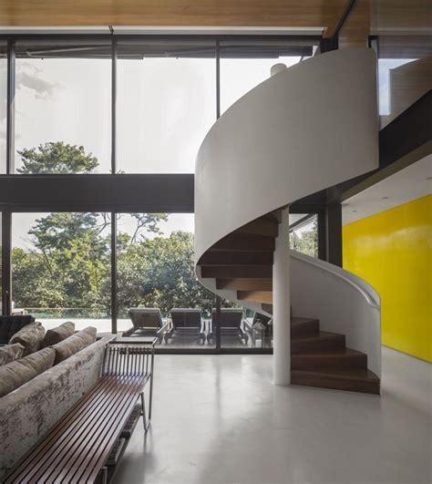 Open Plan Limantos Residence by Limantos Residence Sao Paulo Brazil Design