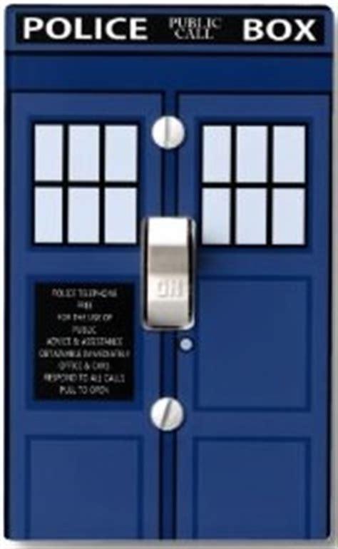 tardis door cover doctor who tardis door light switch cover plate
