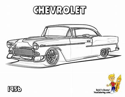 Coloring Chevy Pages Truck Classic Cars Adult
