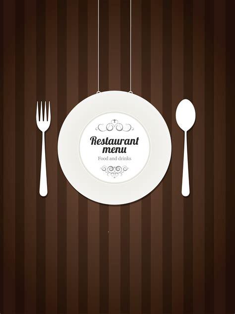 muji frigidity simple food menu vector background material