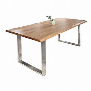 Tisch Mit Kufengestell : massiver baumstamm tisch genesis 220cm eiche massivholz baumkante esstisch holztisch ~ Sanjose-hotels-ca.com Haus und Dekorationen