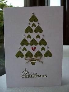 Cartão romântico – Árvore de natal de corações   Namorada ...
