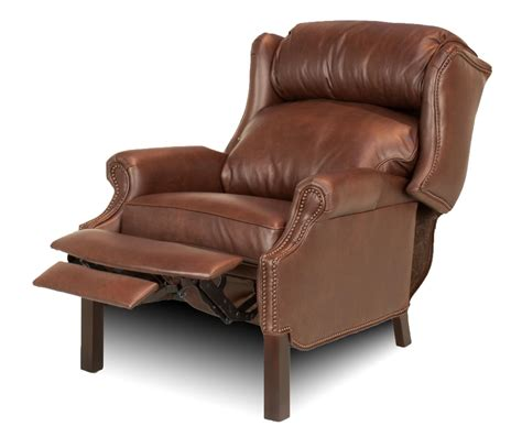 reclining wingback wingback leather recliner leather creations furniture