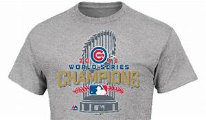 Chicago Cubs World Series Champions Gear & Apparel 2016 ...