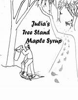 Maple Syrup Drawing Getdrawings sketch template