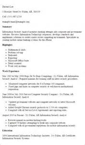 entry level information security analyst resume professional information security analyst templates to showcase your talent myperfectresume