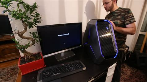 New Gaming System Dell Alienware Area 51 Unboxing and ...