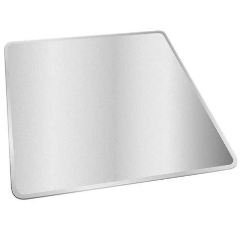 deflect o medium pile clear 46 in x 60 in vinyl supermat