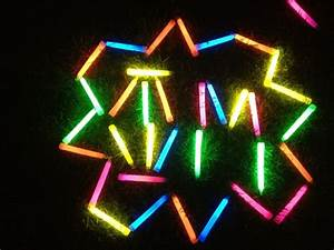 17 best images about decorated campsites on pinterest With glow stick letters