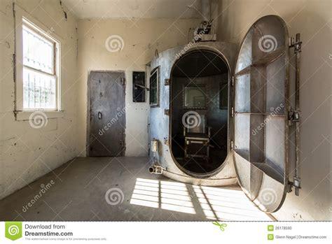 chambre a gaz usa gaskammer stockfoto bild 26178590