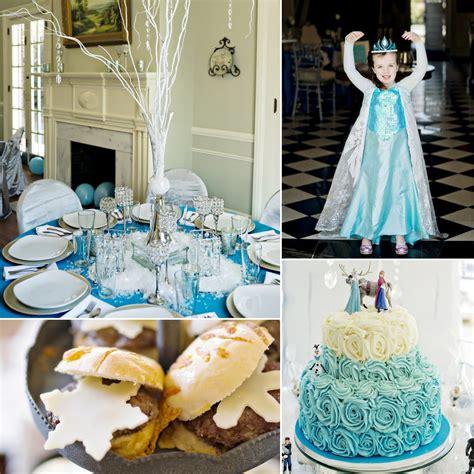 frozen themed birthday party popsugar family