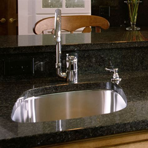 Kitchen: How To Install Undermount Sink At Modern Kitchen