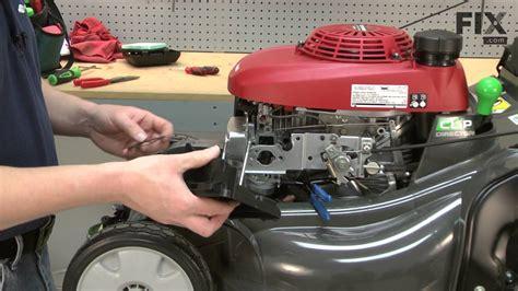 Honda Lawn Mower Repair How Replace The Carburetor
