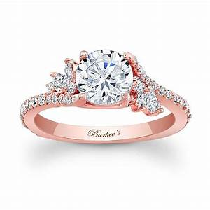 barkev39s rose gold engagement ring 7908lp With rosegold wedding rings