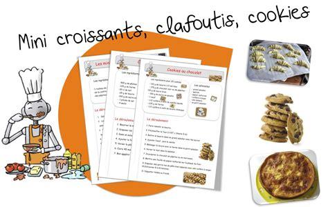 des recette de cuisine recettes de cuisine pour la classe bout de gomme