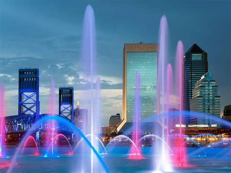 Landscapes Nature Florida Friendship Jacksonville Fountain