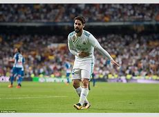 Real Madrid 20 Espanyol Isco's brace inspires home win