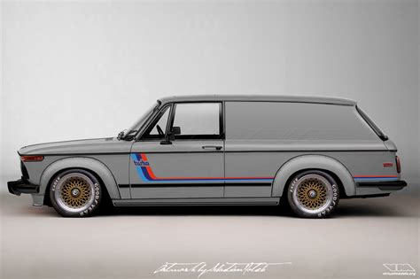 Bmw 2002 Turbo by Bmw 2002 Turbo Panel Wagon With Bbs E50 Virtualmodels
