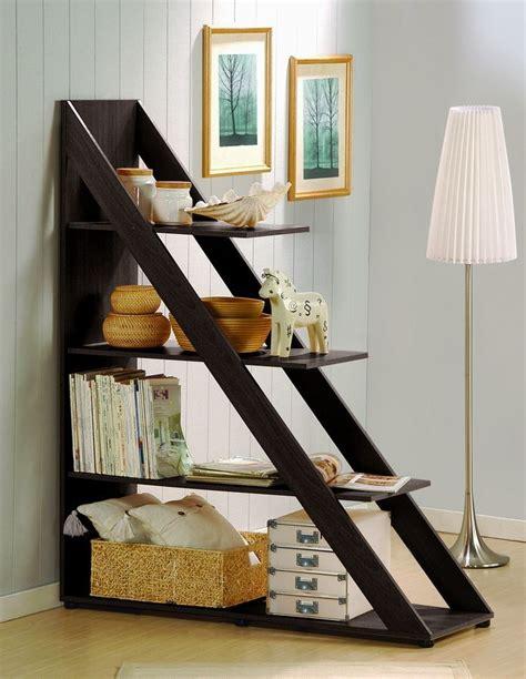 diy room divider shelf  diy triangle shelving
