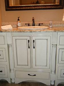 antique white kitchen cabinets with glaze home design ideas With best brand of paint for kitchen cabinets with antique wall art for sale