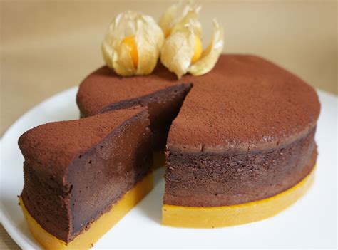 hervé cuisine macaron gateau original au chocolat