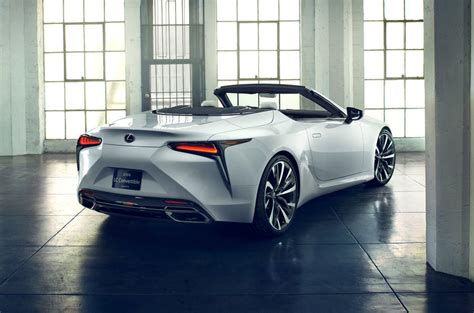 lexus lc convertible concept   production