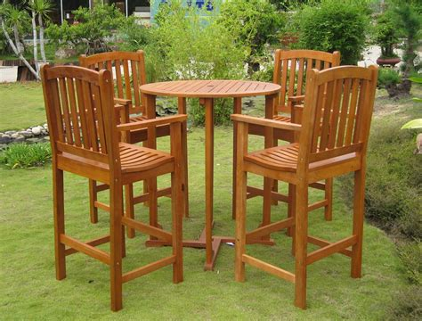 wooden outdoor furniture landscaping gardening ideas