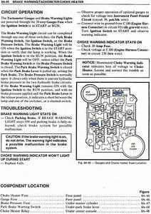 1980 Corvette Fuse Box Diagram