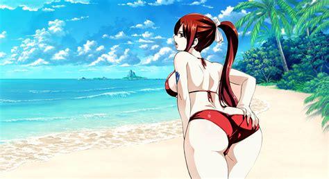 Anime Swimsuit Wallpaper - erza wallpaper by sanoboss on deviantart