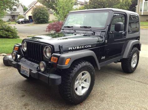 used 2 door jeep rubicon buy used 2005 jeep wrangler rubicon sport utility 2 door 4