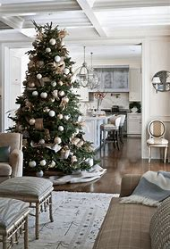blue christmas decorating ideas - Apartment Christmas Decorating Ideas