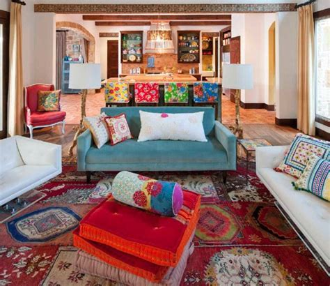 15 Bohemian Inspired Living Rooms   Home Design Lover