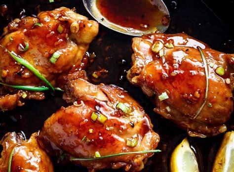cuisine japonaise recette recette facile de haut de cuisse de poulet à la sauce teriyaki
