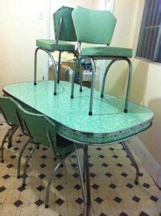 dining settings green  pinterest retro kitchen tables kitchen tables  retro